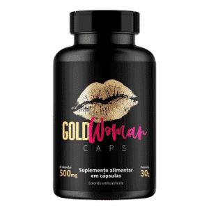 Gold woman caps
