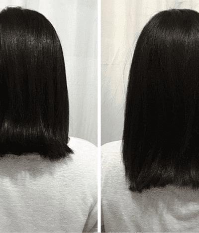 antes e depois grow hair